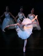 Kaite Morgan as Aurora  in Sleeping Beauty March 2010 Mobile Ballet