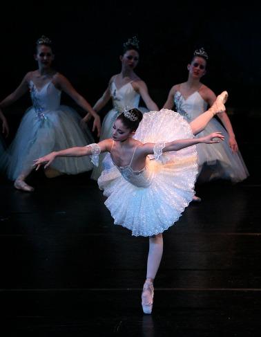 Kaite Morgan as Aurora in Sleeping Beauty March 2010 Mobile Ballet
