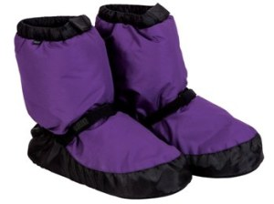 bloch booties purple new